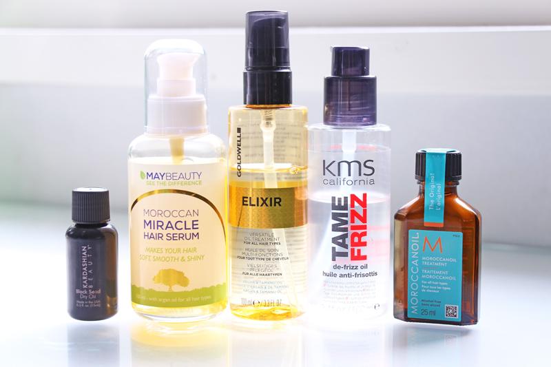 5 parasta hiusöljyä