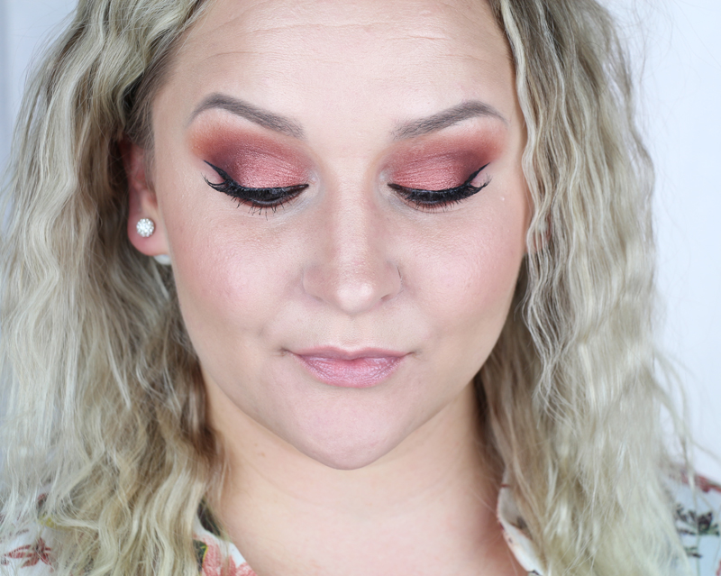 urban decay naked heat makeup tutorial