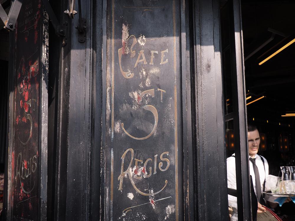Café Saint Régis Pariisi