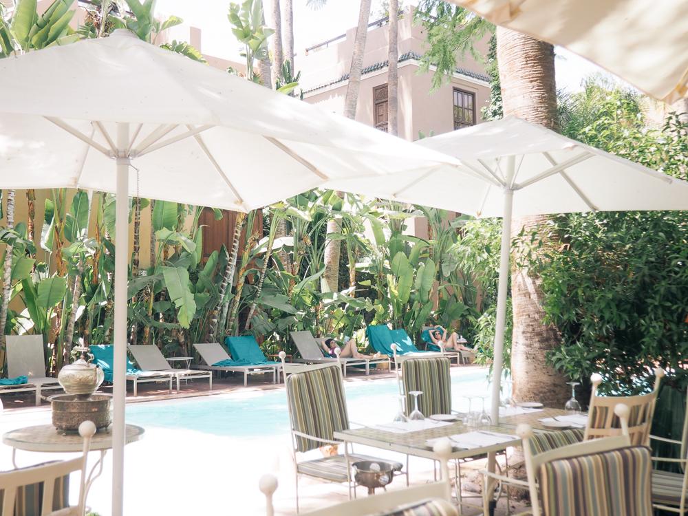 Marrakech vinkit - Jardins de la Medina hotelli