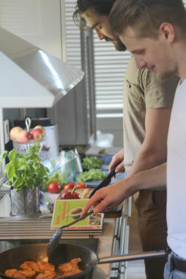 Keittiössä