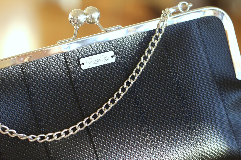 Kaunis kotimainen Roos B:n käsilaukku kierrätysmateriaaleista