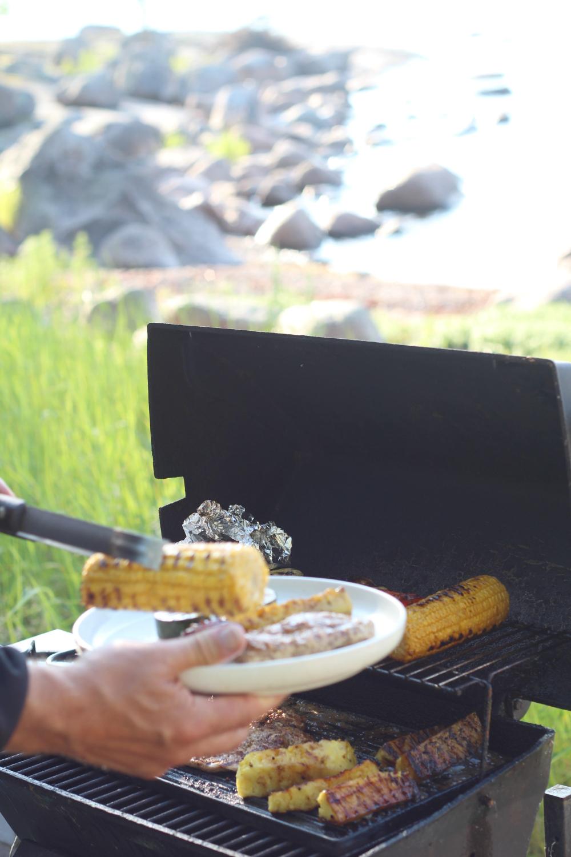 grillattu maissi