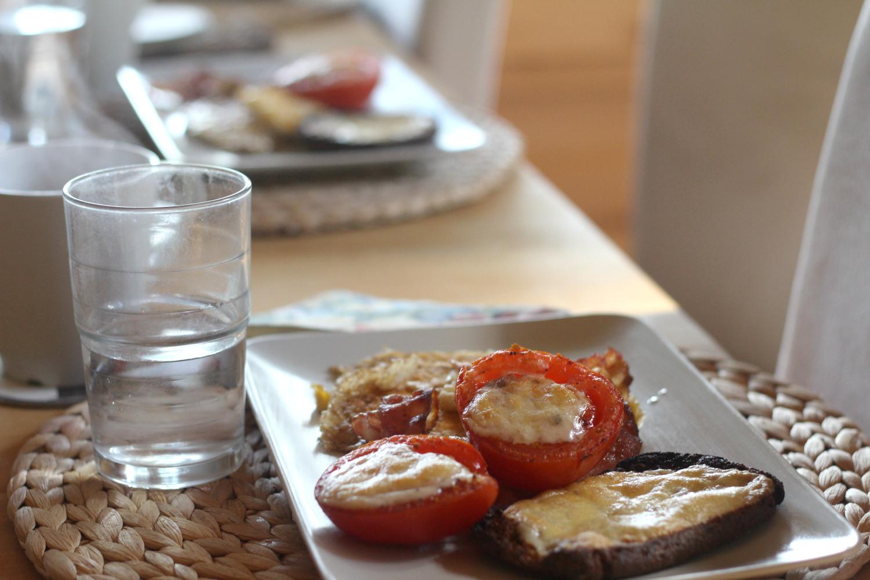 paistetu tomaatti