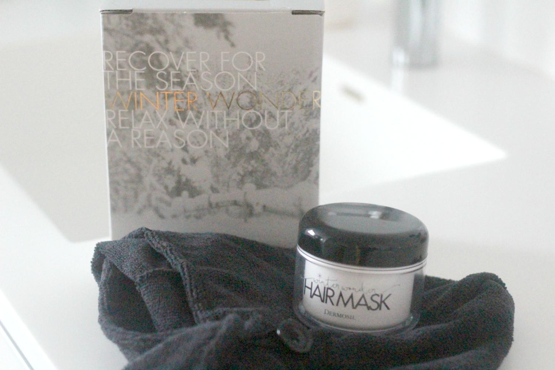 Testissä Dermosilin Winter Wonderland -hiusmaski