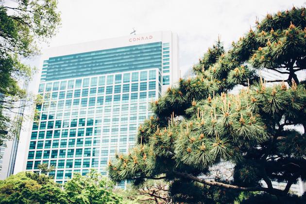 Conrad-Tokyo-garden