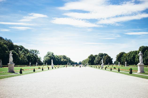 München Nymphenburgin linna