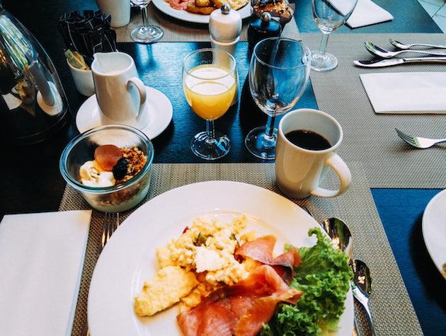 Hotel breakfast Hilton Munich Park