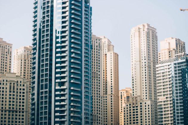 Dubai Marina architecture