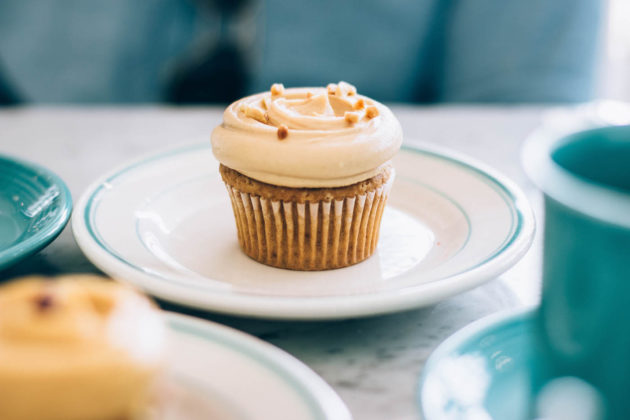 Magnolia Bakery cupcake in Dubai