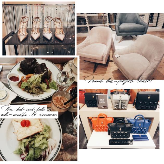 Viikonloppu Dubaissa: shoppailua, lounas