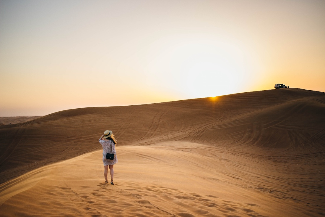 Dubai Safari, Dubai aavikko