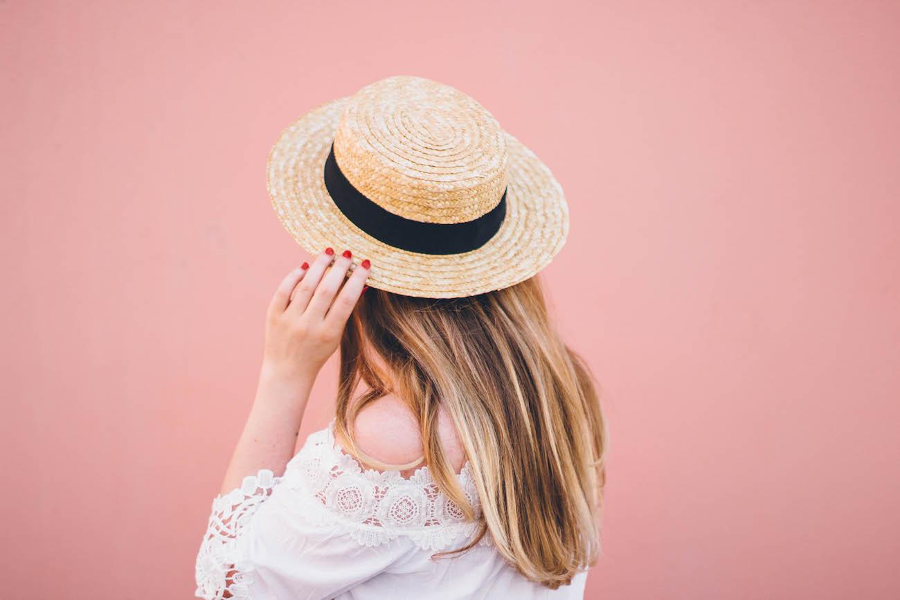 Jenni Ukkonen olkihattu boater hat