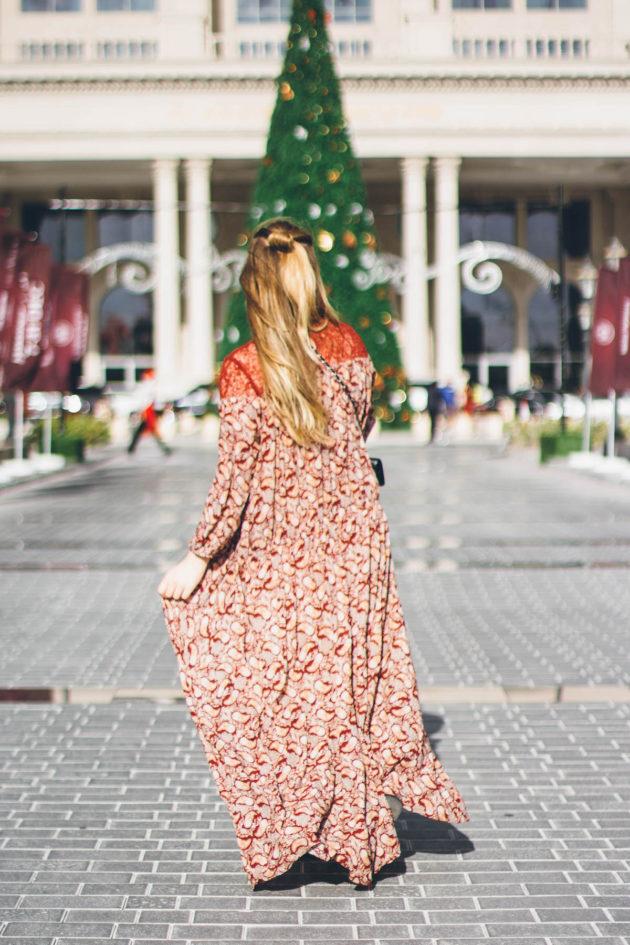 Joulu Dubaissa, St Regis Dubai joulumarkkinat