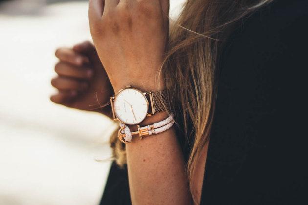 Paul Hewitt ruukultainen kello rannekoru