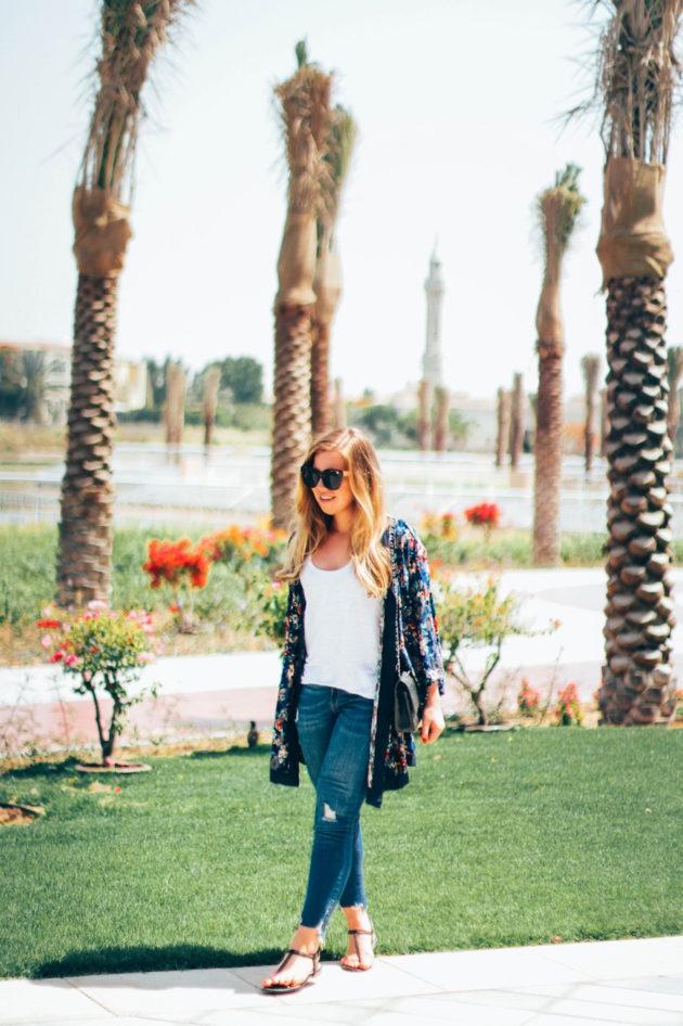 Jenni Ukkonen blogi Dubaista - kimono kesäksi