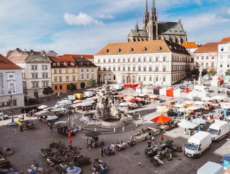 Brno keskusta