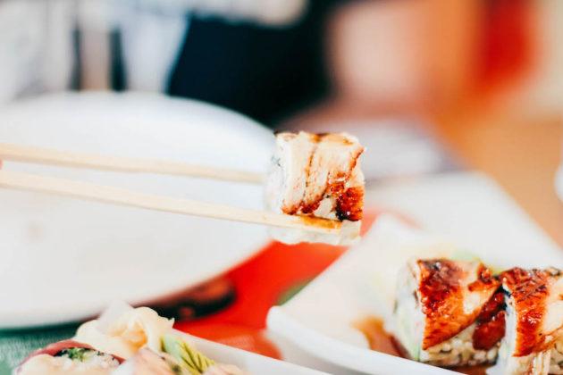 Dubai sushi vinkki
