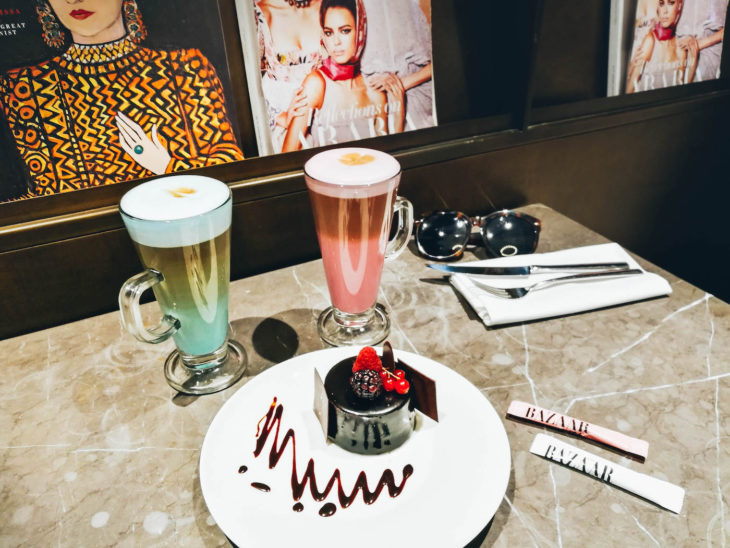Harper's Bazaar Cafe Dubai City Walk