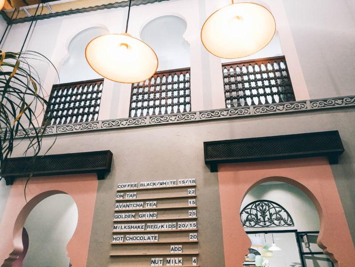 Boston Lane Café in Dubai