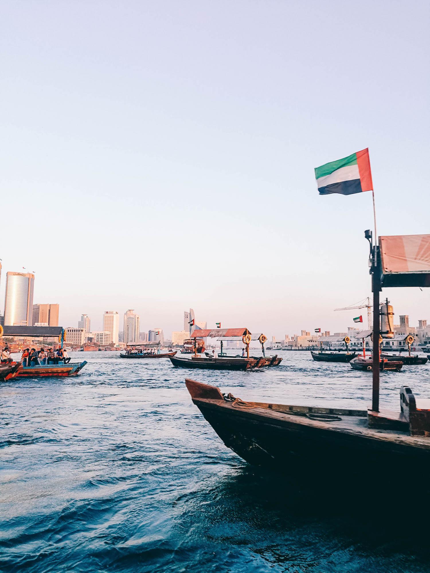 Dubai Old Souk, Creekside