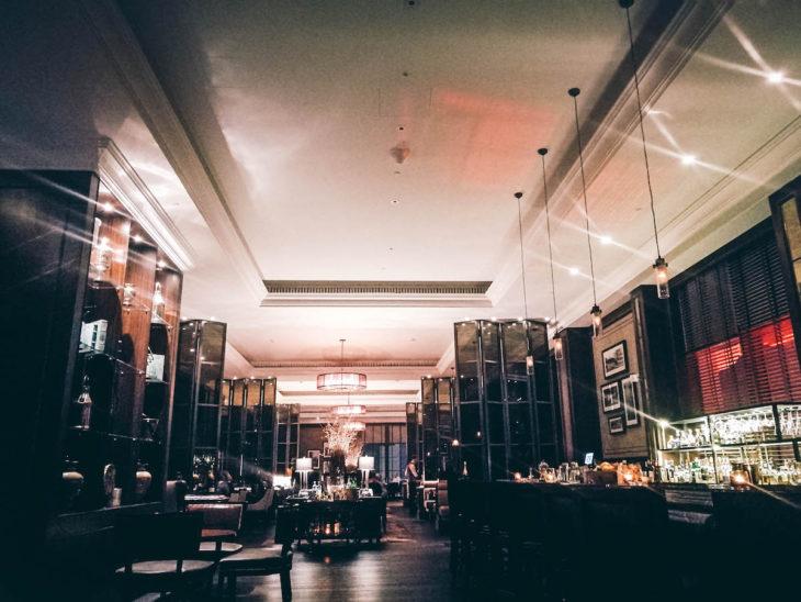 Jouludrinkit St Regis-hotellissa