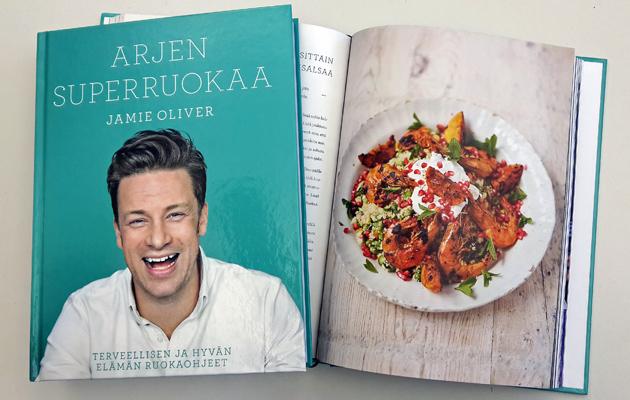 Jamie Oliver Arjen superruokaa