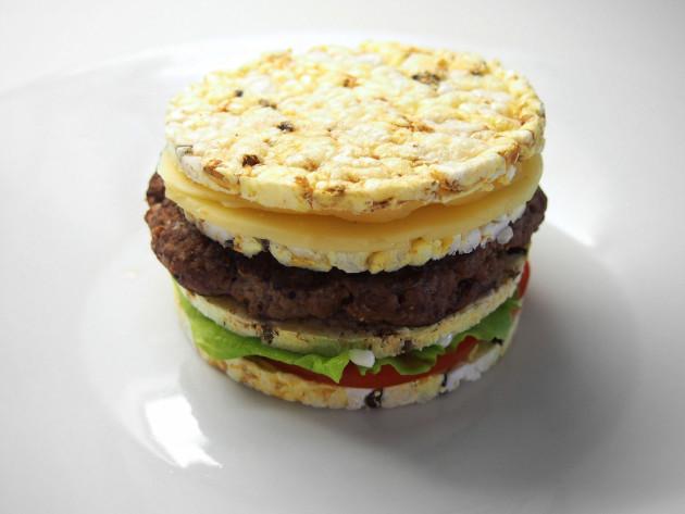 riisikakku burger