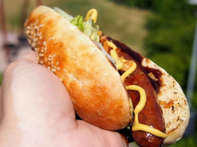 Vehnä-kaura hot dog -sämpylät