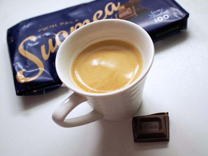 sininen espresso