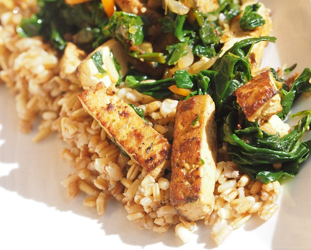 tofu-pinaattitofu