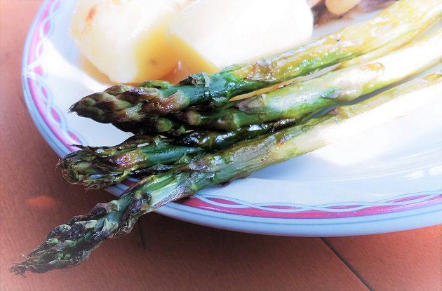 paahdettua parsaa