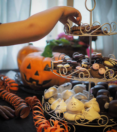 halloweenjuhlien tarjoilut