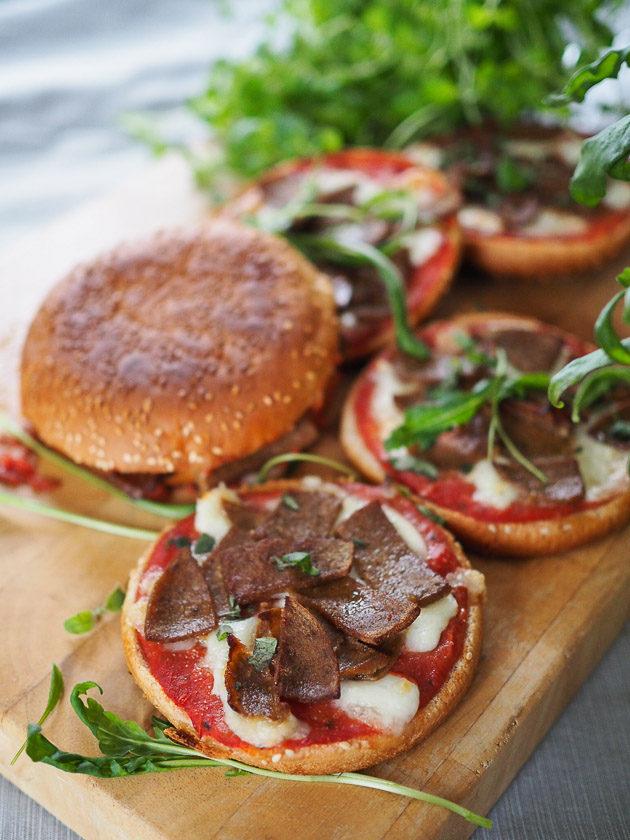 hampurilaispizza