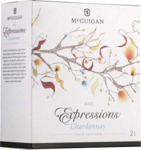 McGuigan_Expressions_Chardonnay_2015_hanapakkaus