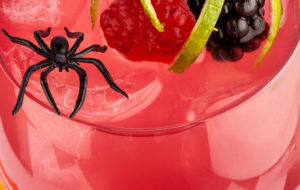 marjainen halloween-drinkki