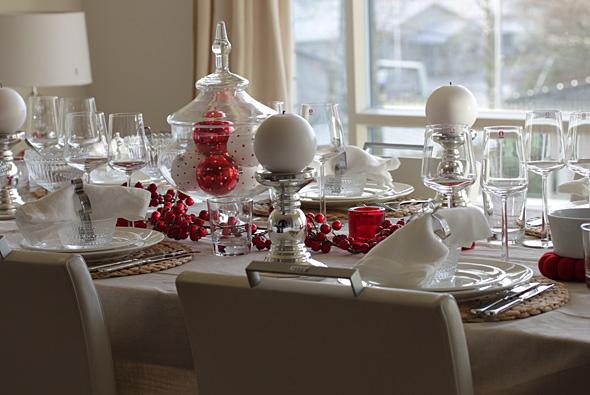 Joulupöydän Koristelu