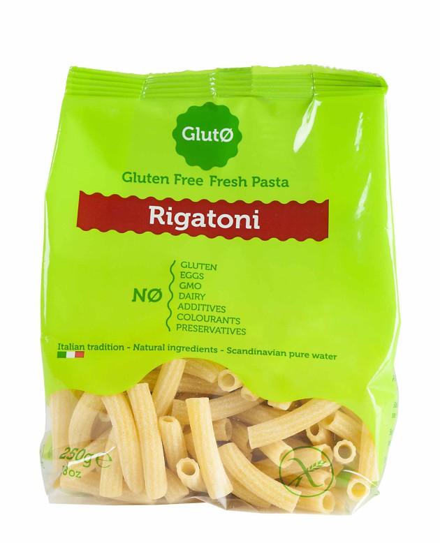 Gluto rigatoni-pasta