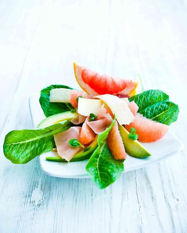Avokado-greippisalaatti