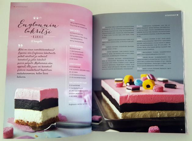 Englannin lakritsi -kakku