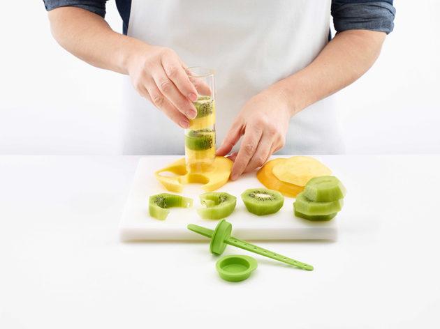 Lékuén hedelmäjääpuikon valmistus