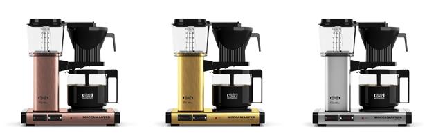 moccamaster metallic edition kahvinkeittimet