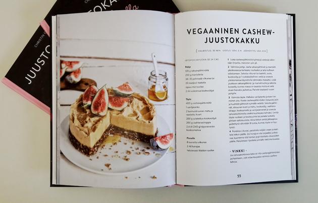 vegaaninen juustokakku