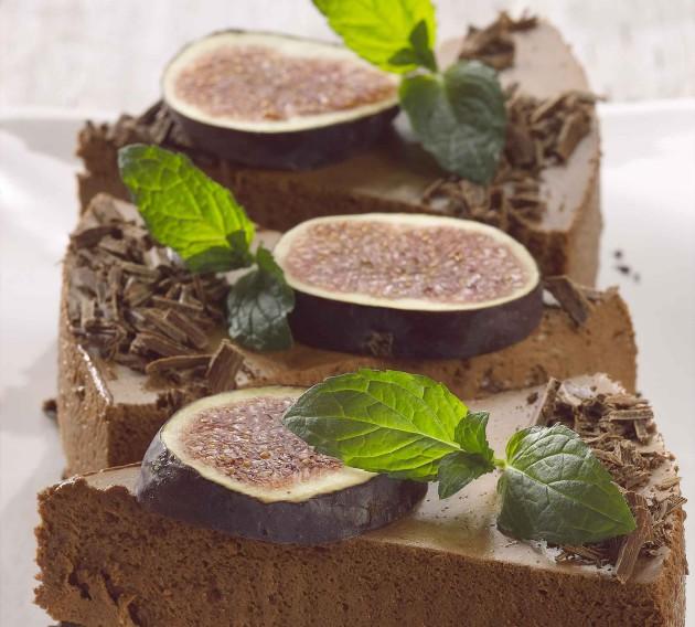 Kahden suklaan kakku