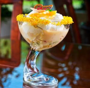 creama catalana -jäätelö