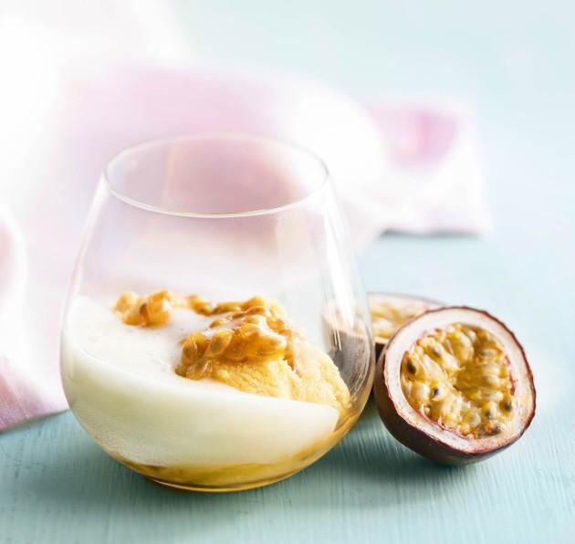 Kuohuva passionhedelmäsorbetti – hurmaava jälkiruoka