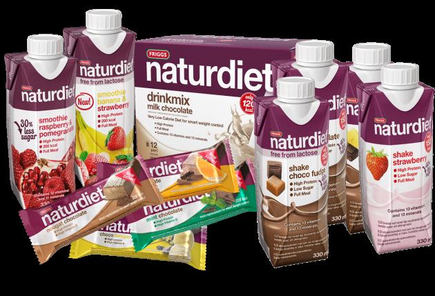 Naturdietin tuotteita