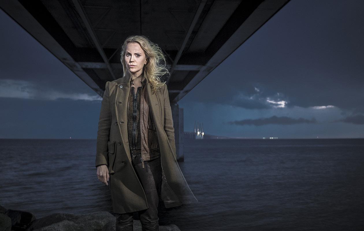 Saga Norén (Sofia Helin) on Silta-sarjan rikospoliisi.