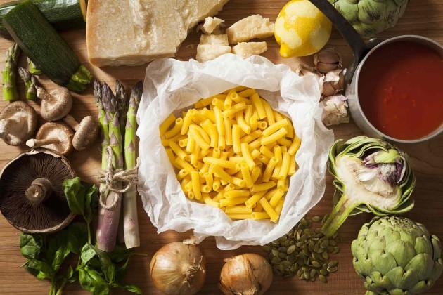 Gluteenitonta rigatoni-pastaa