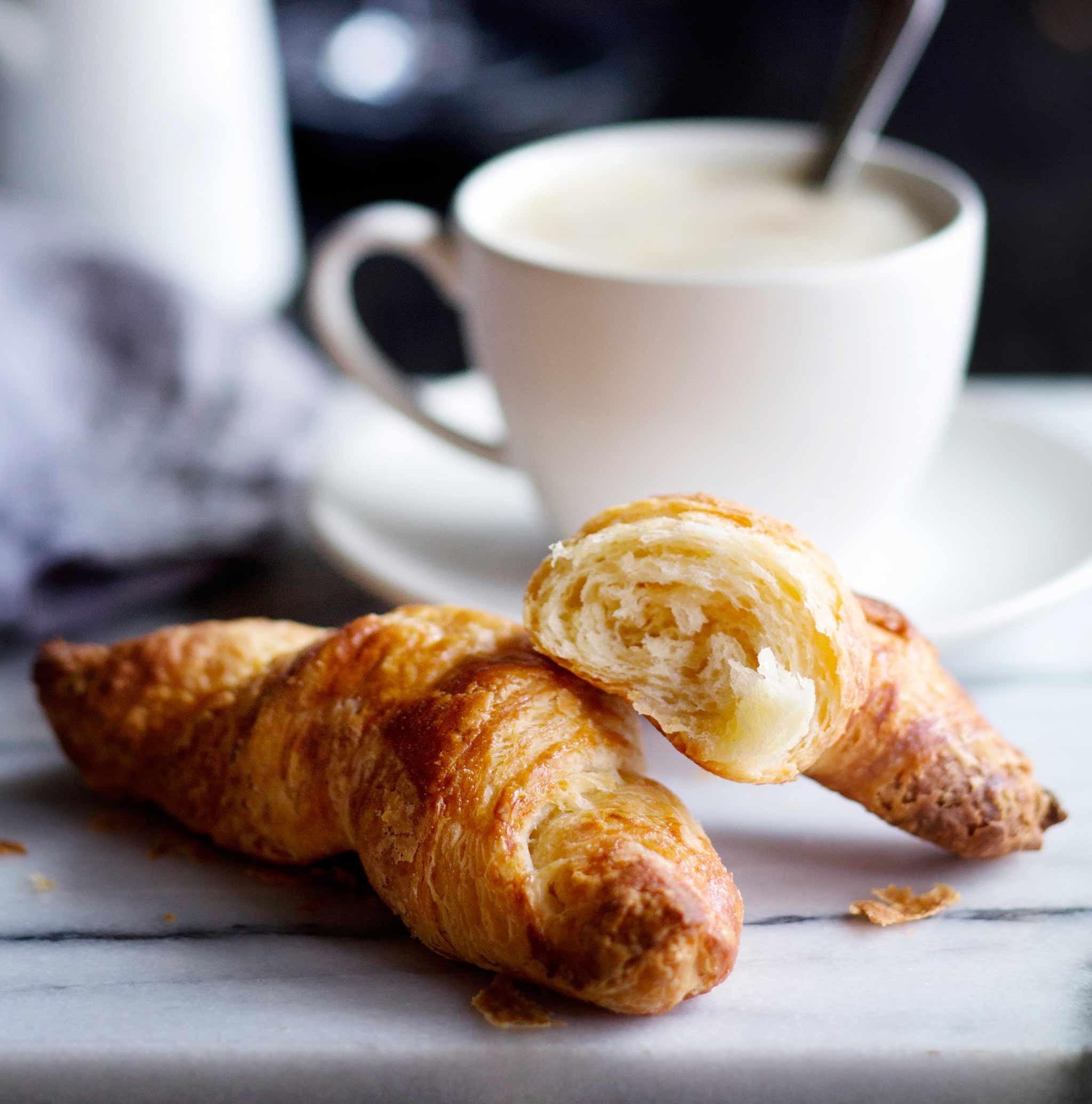 Ranskalaiset croissantit
